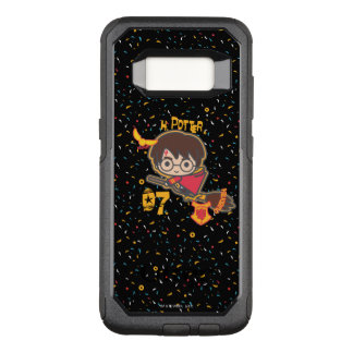Cartoon Harry Potter Quidditch Seeker OtterBox Commuter Samsung Galaxy S8 Case