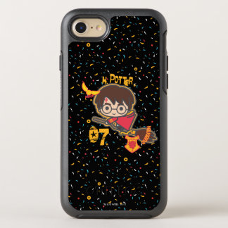 Cartoon Harry Potter Quidditch Seeker OtterBox Symmetry iPhone 8/7 Case