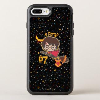 Cartoon Harry Potter Quidditch Seeker OtterBox Symmetry iPhone 8 Plus/7 Plus Case