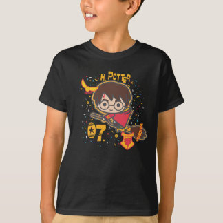 Cartoon Harry Potter Quidditch Seeker T-Shirt