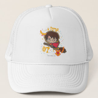 Cartoon Harry Potter Quidditch Seeker Trucker Hat
