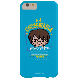 Cartoon Harry Potter Wanted Poster Graphic Barely There iPhone 6 Plus Case