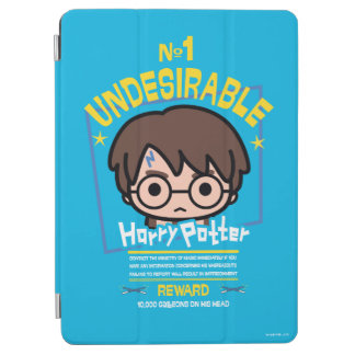 Cartoon Harry Potter Wanted Poster Graphic iPad Air Cover