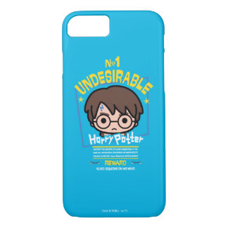 Cartoon Harry Potter Wanted Poster Graphic iPhone 8/7 Case