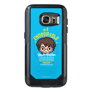 Cartoon Harry Potter Wanted Poster Graphic OtterBox Samsung Galaxy S7 Case