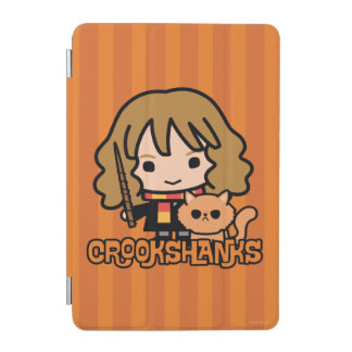 Cartoon Hermione and Crookshanks iPad Mini Cover