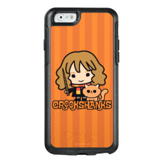 Cartoon Hermione and Crookshanks OtterBox iPhone 6/6s Case