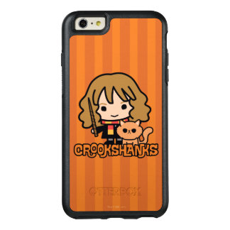 Cartoon Hermione and Crookshanks OtterBox iPhone 6/6s Plus Case