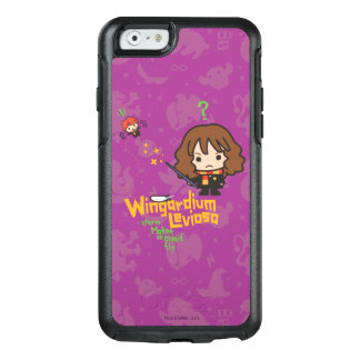 Cartoon Hermione and Ron Wingardium Leviosa Spell OtterBox iPhone 6/6s Case