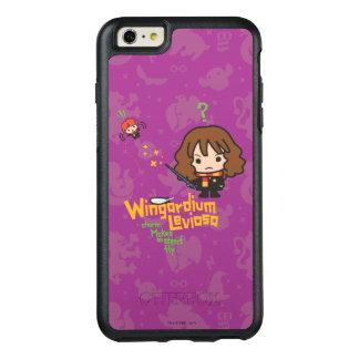 Cartoon Hermione and Ron Wingardium Leviosa Spell OtterBox iPhone 6/6s Plus Case