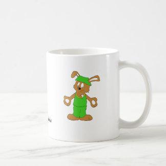 Cartoon Hip Hop Rabbit With Bing Bing Coffee Mugs