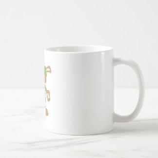 Cartoon HIp Hop Rabbit With Bing Bing Classic White Coffee Mug