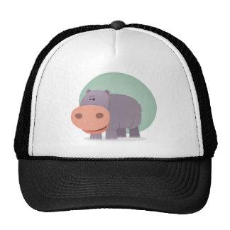 Cartoon Hippo Cap