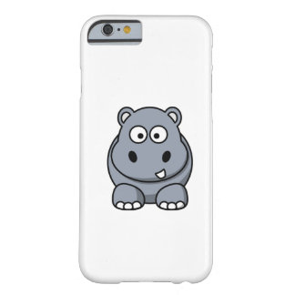 Cartoon Hippo Barely There iPhone 6 Case