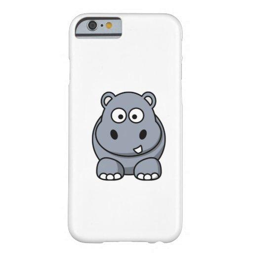 Cartoon Hippo iPhone 6 Case