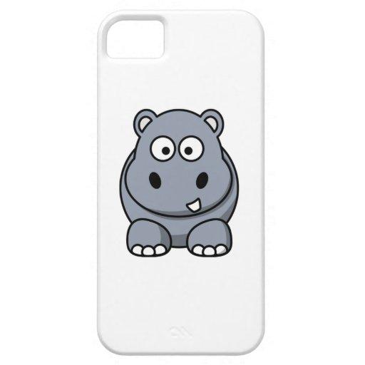 Cartoon Hippo iPhone 5 Covers