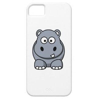 Cartoon Hippo iPhone 5 Case