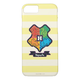 Cartoon Hogwarts Crest iPhone 8/7 Case