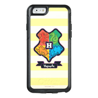 Cartoon Hogwarts Crest OtterBox iPhone 6/6s Case