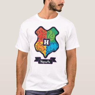 Cartoon Hogwarts Crest T-Shirt