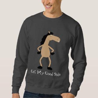 Cartoon Horse Fashion Model Sweatshirt