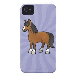 Cartoon Horse iPhone 4 Cover