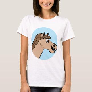 Cartoon Horse Logo T-Shirt