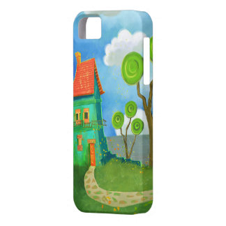 cartoon house casemate iPhone 5 cover