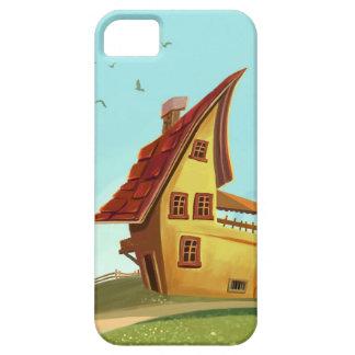 cartoon house iPhone 5 Cases