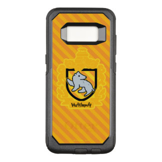 Cartoon Hufflepuff Crest OtterBox Commuter Samsung Galaxy S8 Case