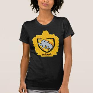 Cartoon Hufflepuff Crest T-Shirt