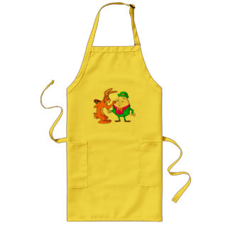 Cartoon Humpty Dumpty  cooking apron