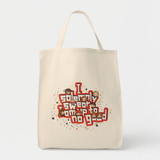 """Cartoon """"I solemnly swear"""" Graphic Tote Bag"""