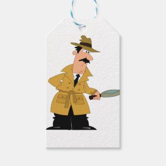 cartoon investigator yeah gift tags