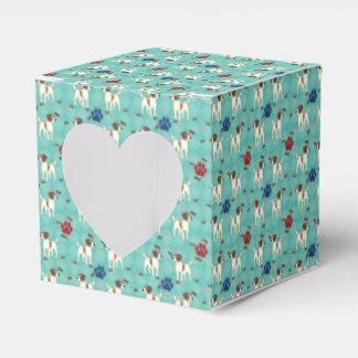 Cartoon Jack Russell Terrier Favour Box