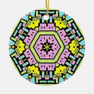 Cartoon Kaleidoscope 01 Ornament