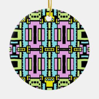 Cartoon Kaleidoscope 03 Ornament