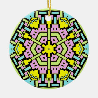 Cartoon Kaleidoscope 05 Ornaments