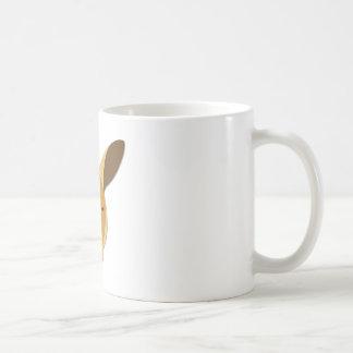 Cartoon Kangaroo Head Coffee Mug