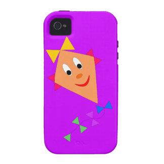 Cartoon Kite iPhone 4 Curve Case-Mate Case iPhone 4/4S Case