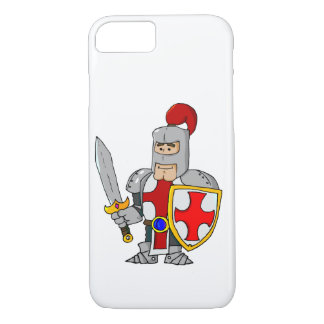 Cartoon Knight iPhone 8/7 Case