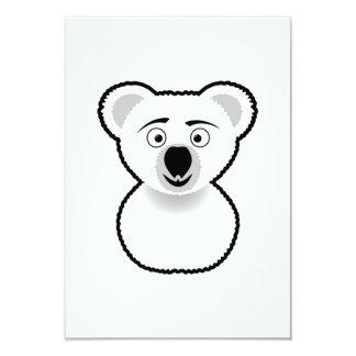 Cartoon Koala Bear Personalized Invitation