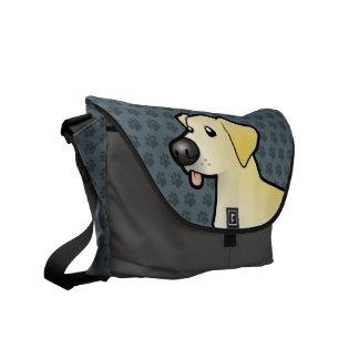 Cartoon Labrador Retriever Commuter Bag