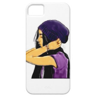 Cartoon Lady iPhone 5 Cover