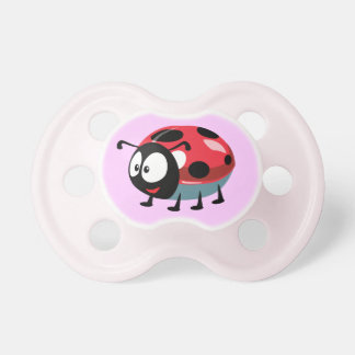 cartoon ladybird pacifiers