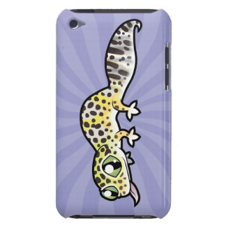 Cartoon Leopard Gecko Barely There iPod Cases