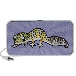 Cartoon Leopard Gecko Portable Speaker