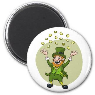 Cartoon Leprechaun Magnet