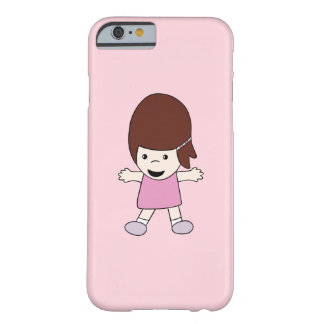 Cartoon Lesley Barely There iPhone 6/6s Case