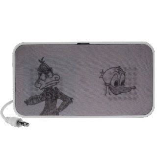 Cartoon life iPod speakers